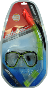 Alder Junior mask and snorkel set